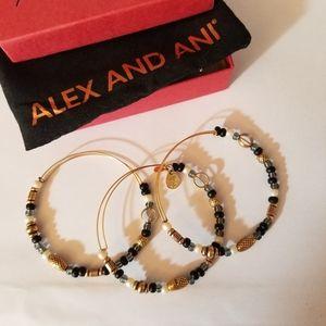 Alex and Ani Set of Three Bracelets...2009
